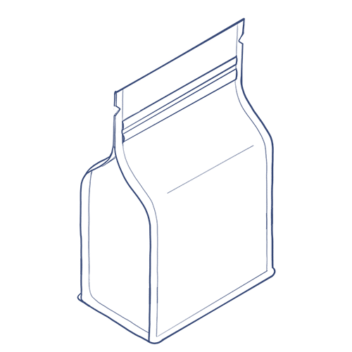 Flat Bottom Pouch icon